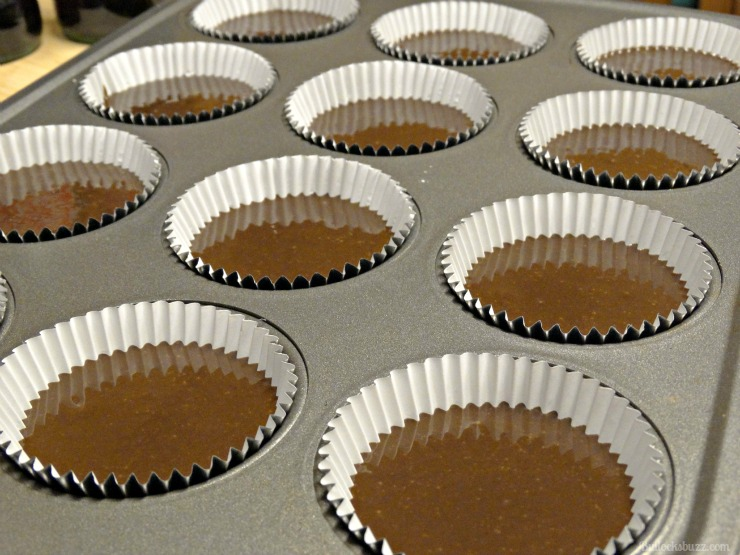 coca cola christmas cupcakes and craft holidays add batter to cupcake pan until all are full