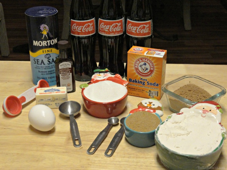Coca-Cola Christmas Cupcakes and craft holidays ingredients