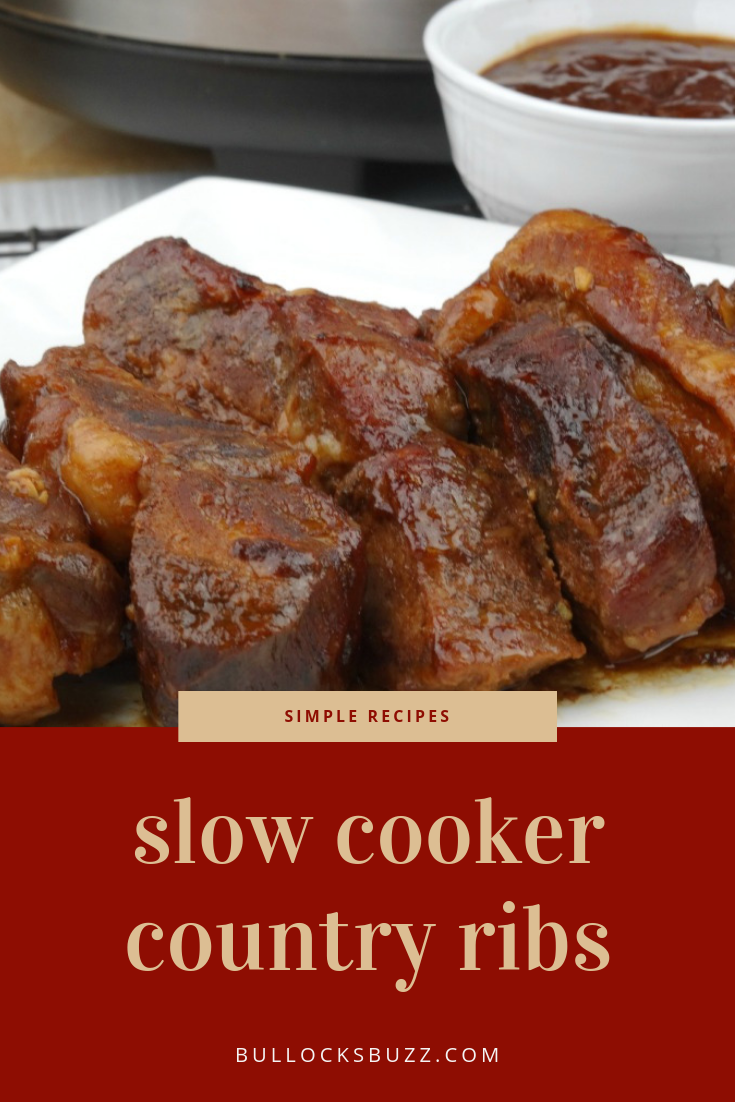 easy slow cooker country ribs dinner recipe