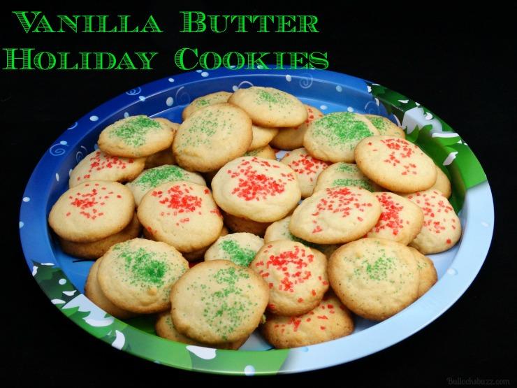 Vanilla Butter Cookie recipe