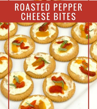 Roasted Pepper Cheese Bites Recipe and 6 Holiday Party Planning Tips