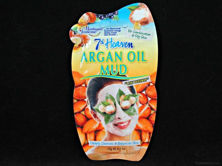 7th heaven face masks argan oil mud mask front