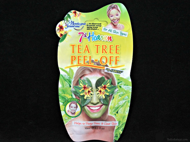 7th heaven face masks tea tree peel off mask front