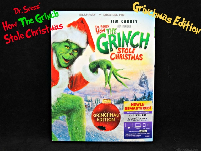 How The Grinch Stole Christmas Blu Ray.Dr Seuss How The Grinch Stole Christmas Grinchmas Edition