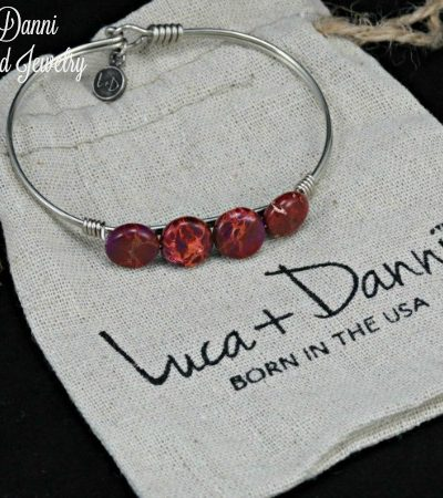 Luca + Danni Handcrafted Jewelry: Natural Elements Amethyst Bangle