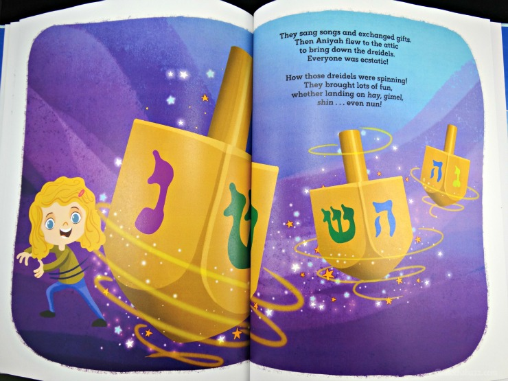 Personalized Books from Hallmark Magical Hanukkah book page two