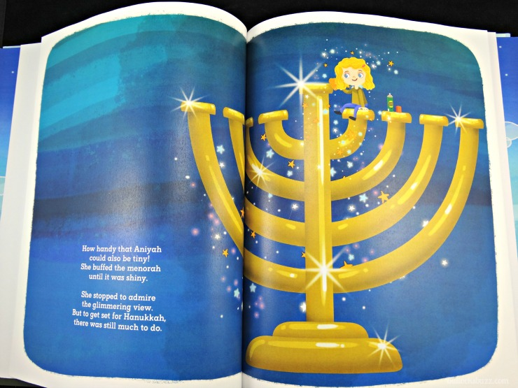 Personalized Books from Hallmark Magical Hanukkah book page