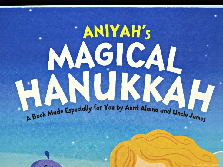 Personalized Books from Hallmark Magical Hanukkah cover dedication