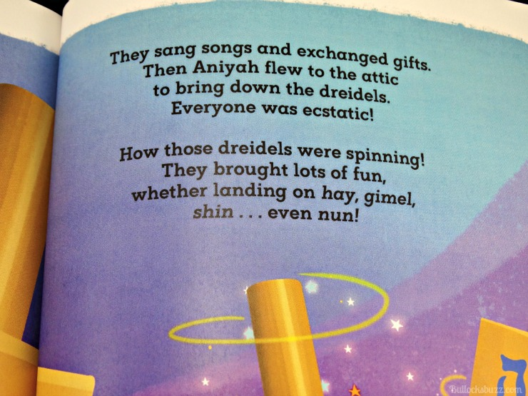 Personalized Books from Hallmark Magical Hanukkah rhyming text example