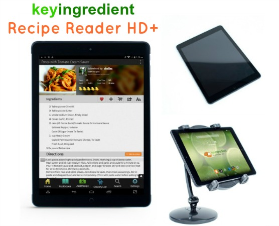Key Ingredient Recipe Reader HD+ Review: Find, Organize and Save Recipes