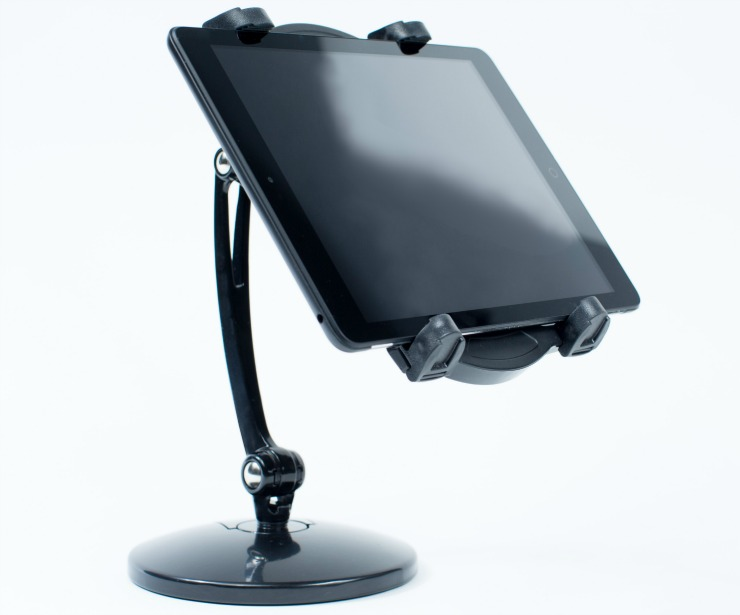 key ingredient recipe reader hd tablet in stand