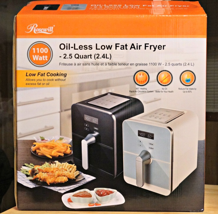 rosewill air fryer box