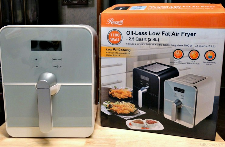 rosewill air fryer out of box
