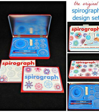 The Original Spirograph Design Set – Create Amazing Intricate Designs
