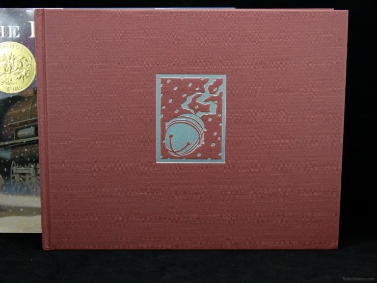 the polar express 30th anniversary edition inside binding