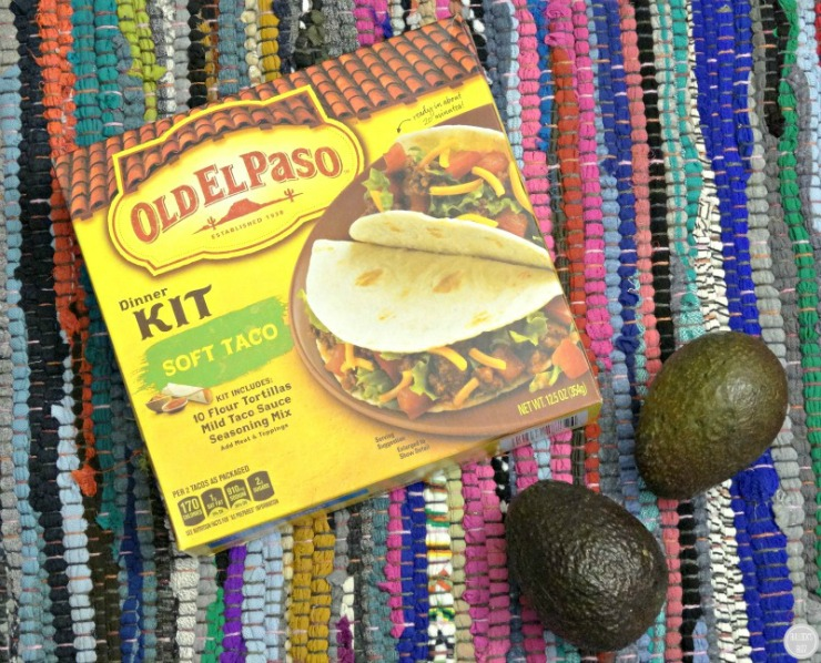 Chicken, Avocado & Bacon Soft Tacos Old El Paso ingedients