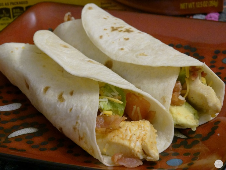 Chicken Avocado & Bacon Soft Tacos main