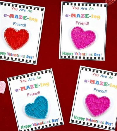 DIY Valentine's Day Cards for Kids with Free Printable!