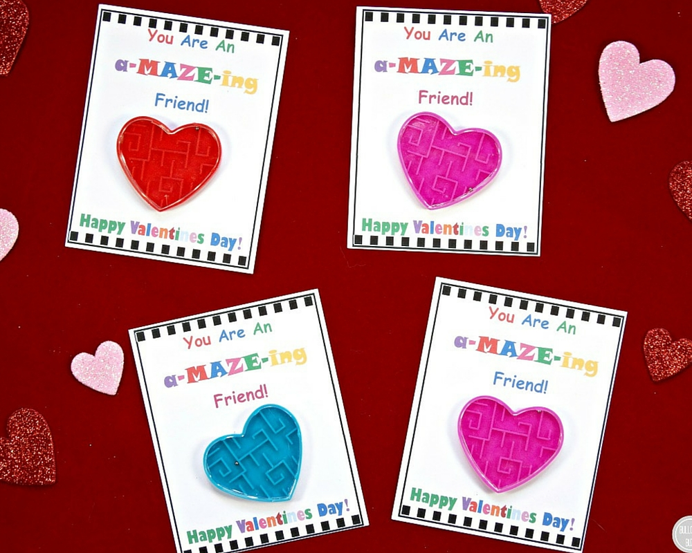 Diy Valentine S Day Cards For Kids With Free Printable Bullock S Buzz