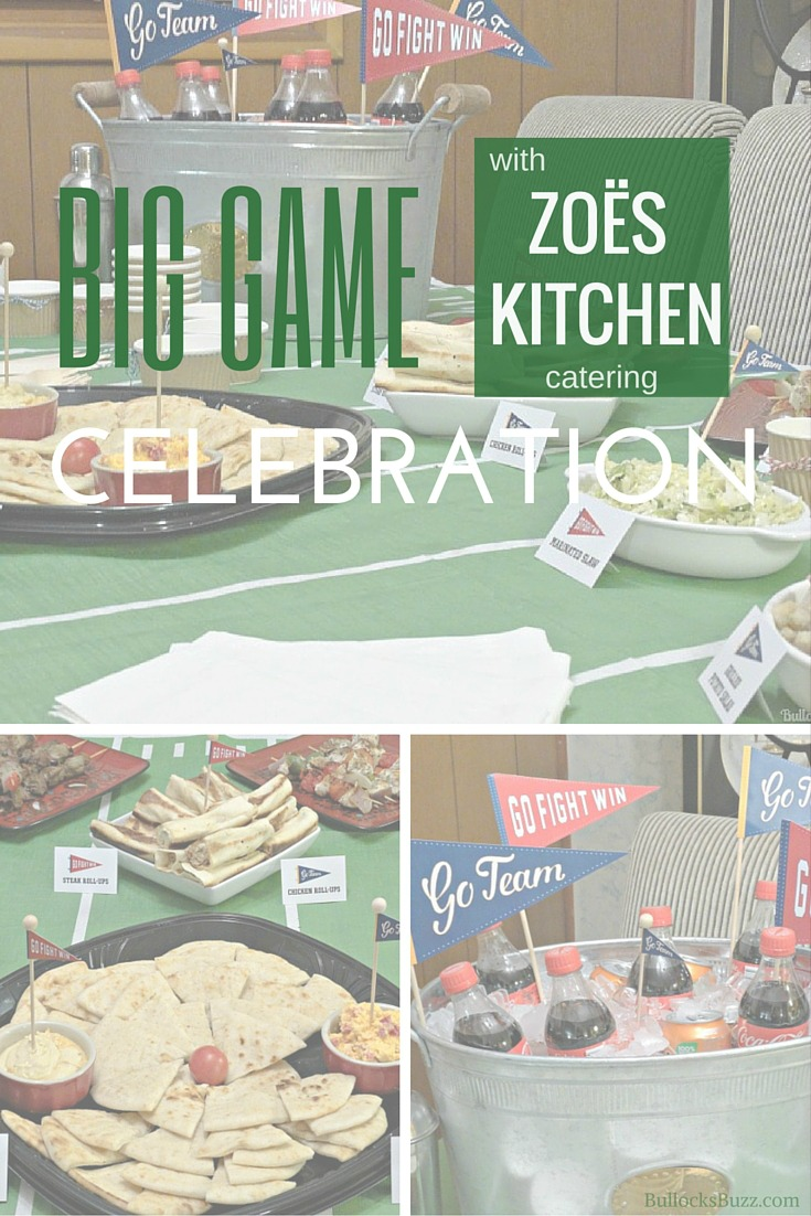 Kick Off Your Big Game Celebration with Zoës Kitchen - Bullock's Buzz