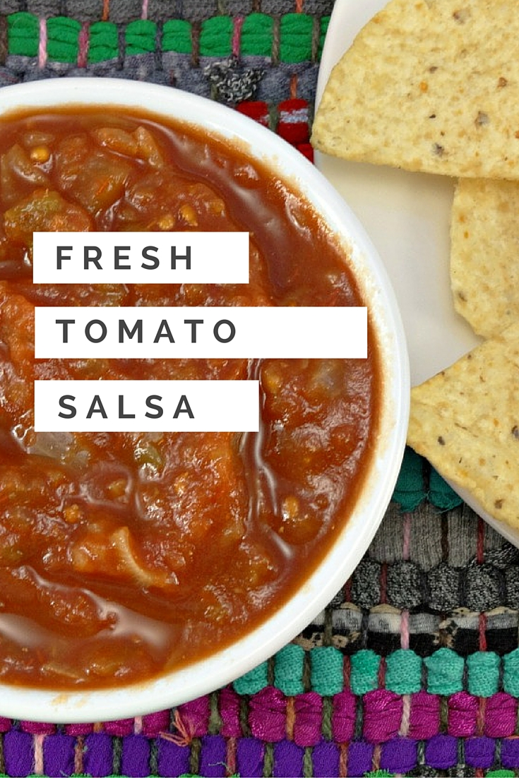 game day traditions fresh tomato salsa