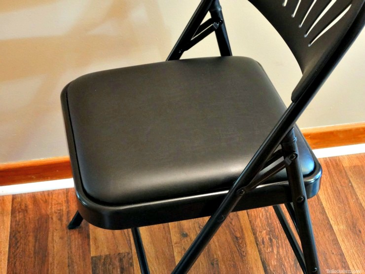 Starting A Home Office Samsonite XL Series Fanback Metal Folding Chair Bul
