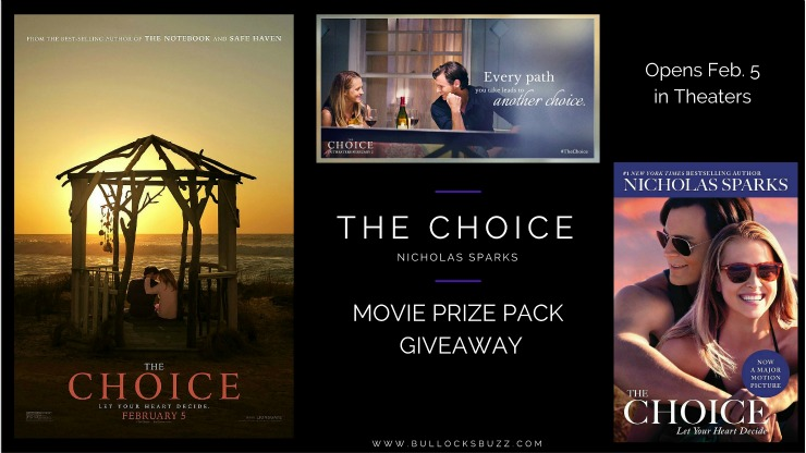 THE CHOICE Movie In Theaters February 5!