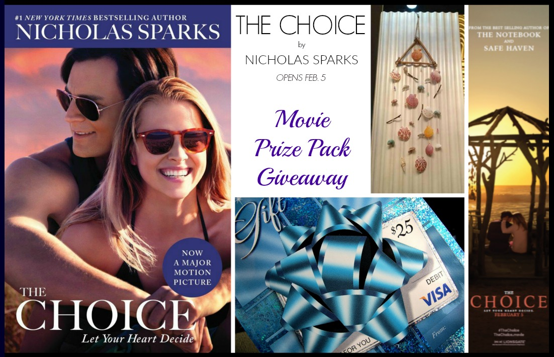 The Choice Movie Prize Pack Giveaway