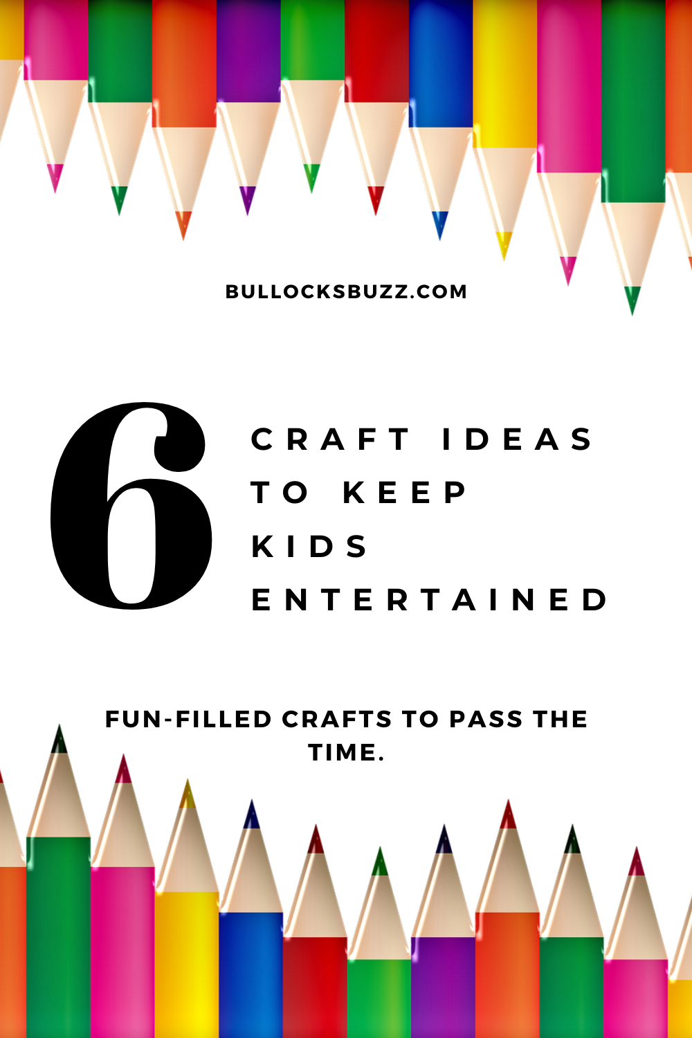 Being a mom means being busy, and that means we don't have a lot of time to play with the kids. Here are six craft ideas to keep your kids entertained.