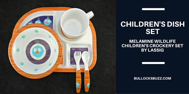 Children's Dish Set by Lassig – Make Meal Time Fun