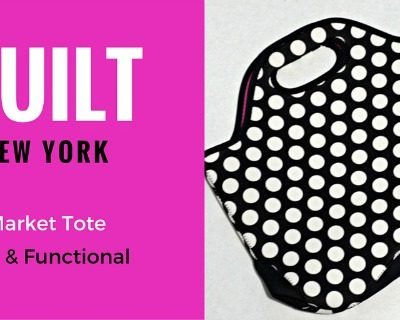 BUILT NY Market Tote – Fun and Functional