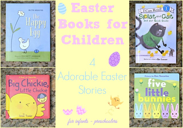 Easter Books for Children –  Four Easter Stories Kids Will Love!