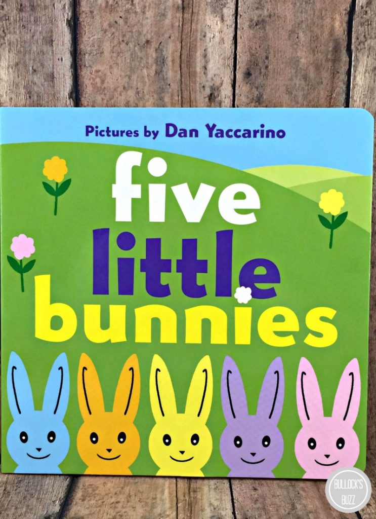 Easter Books for Children five little bunnies