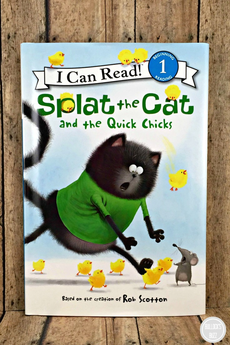 Easter Books for Children splat the cat and the quick chicks