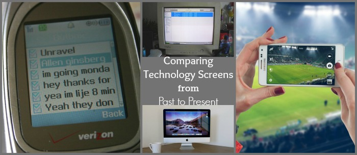 Comparing Technology Screens from Past to Present