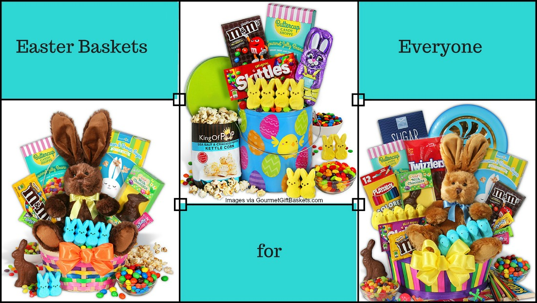Easter Baskets from GourmetGiftBaskets com site
