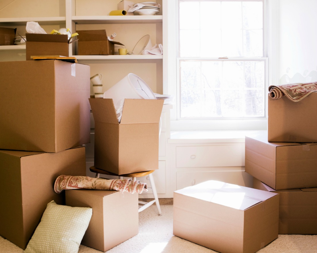 Five Things To Remember When You Move Into A New Home packing