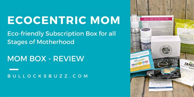 Ecocentric Mom – The Mom Box Review