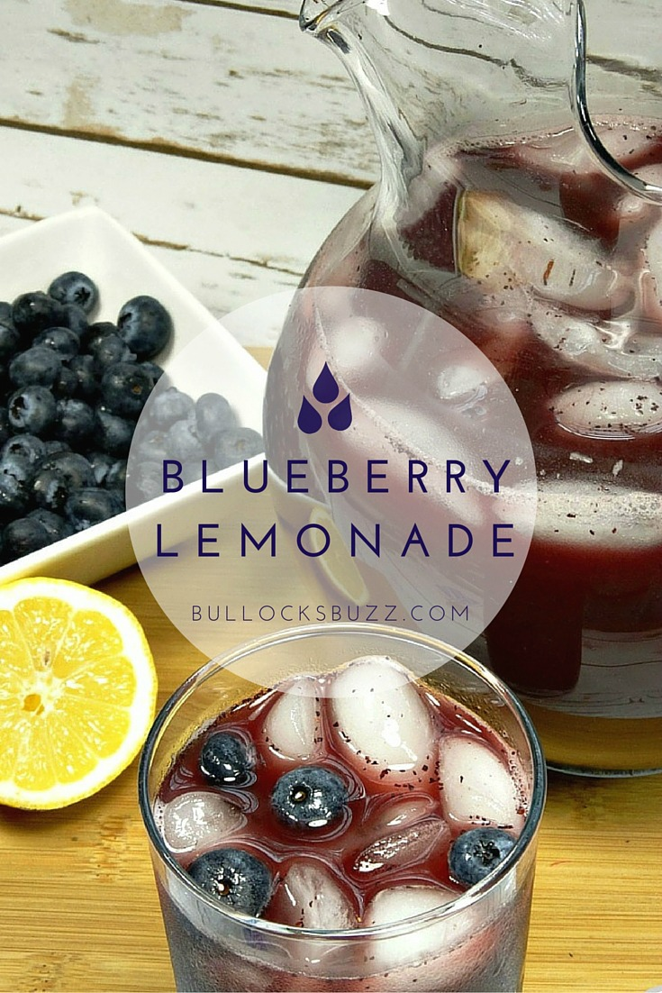 Fresh, sweet pureed blueberries combined with tart lemon makes for a deliciously refreshing summer drink in this Homemade Blueberry Lemonade!