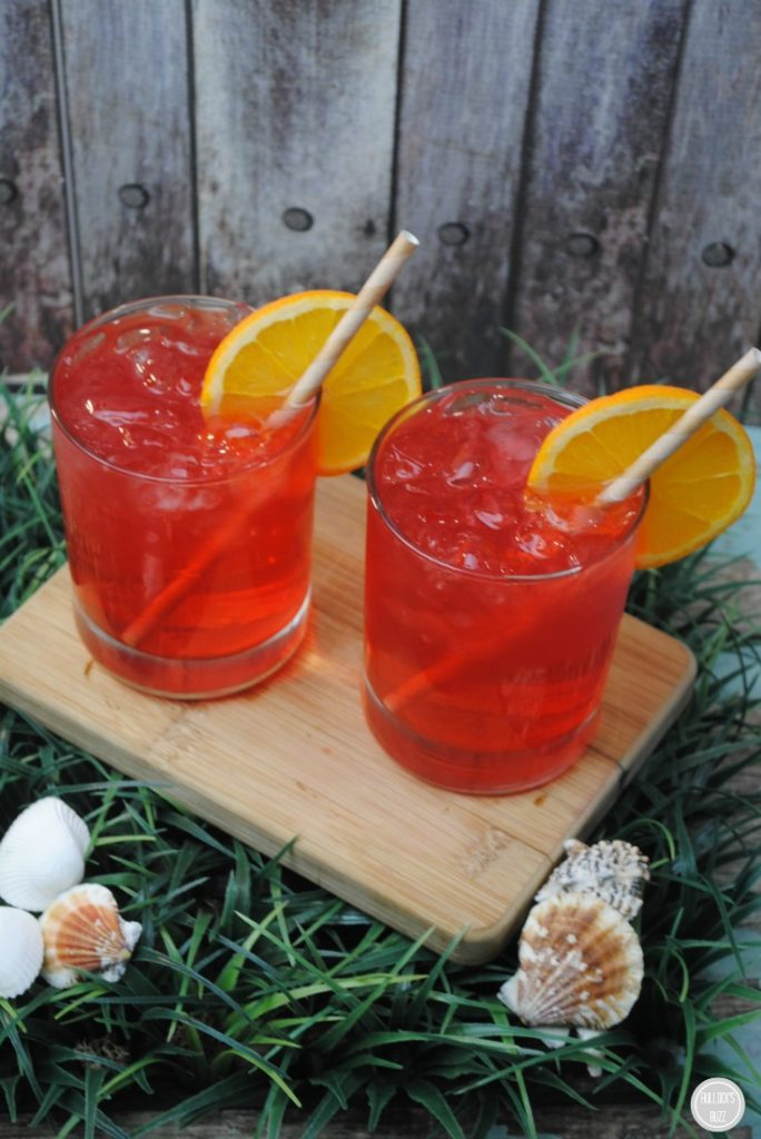 Caribbean Punch in glasses