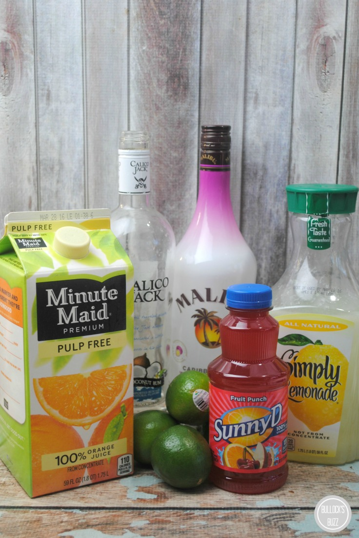 Carribbean Punch ingredients