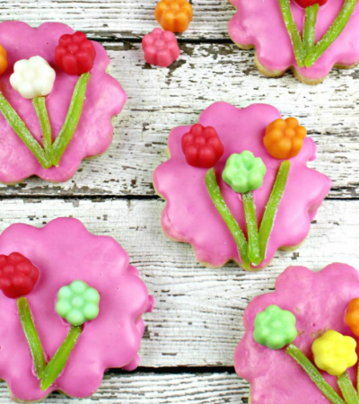JuJu Flower Sugar Cookies Recipe – A Mother's Day Treat!