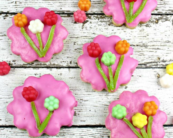 JuJu Flowers Sugar Cookies