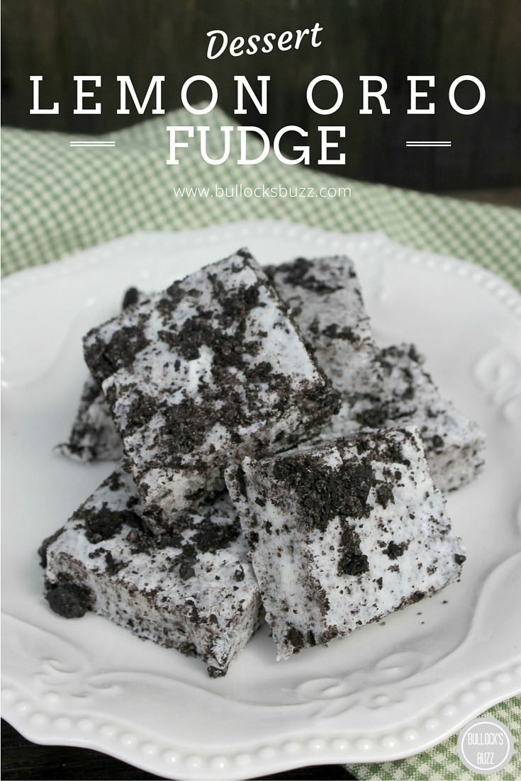 These no bake Lemon Oreo Fudge bars are one of those desserts that will win you over with the very first bite! They taste like Cookies 'n' Cream chocolate bars only creamier and fudge-ier (is that even a word?) with just a whisper of lemon.