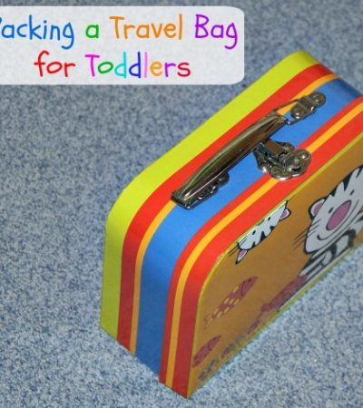 Packing a Travel Bag for Toddlers: What to Bring