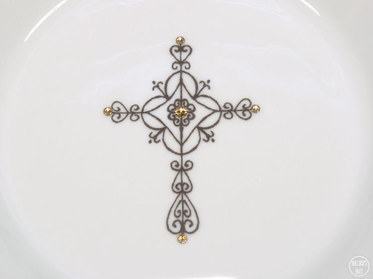 PrayerBowls image close up of cross