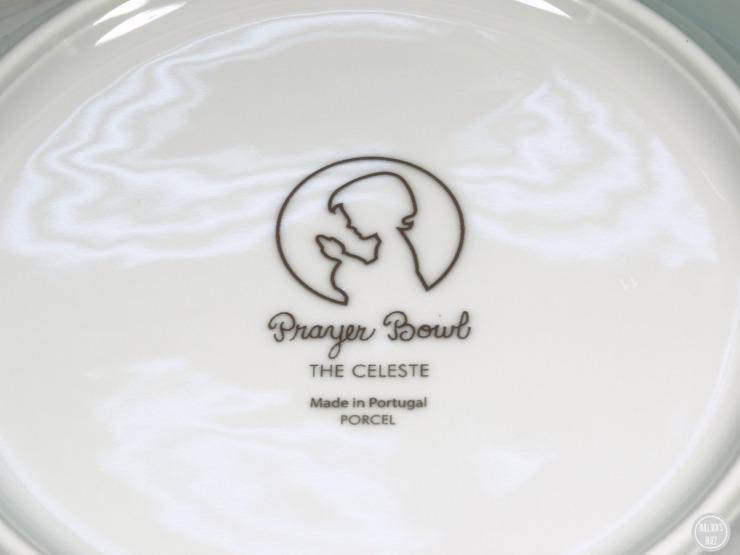 PrayerBowls plate bacvk marking