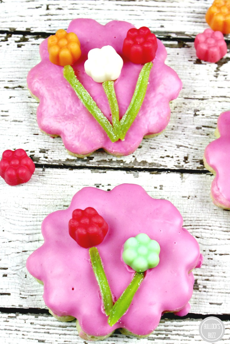 JuJu Flowers Sugar Cookies Recipe close up