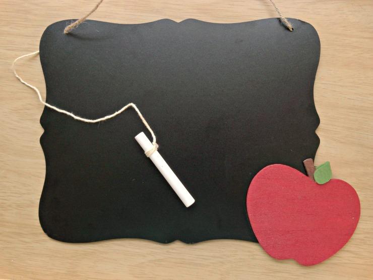 DIY Teacher Chalkboard teacher Appreciation Gift Teacher Chalkboard add a message or leave it blank