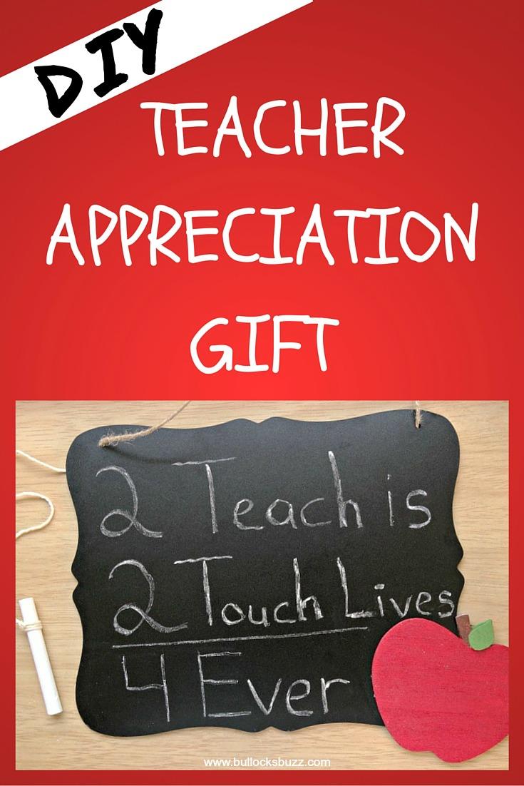 DIY teacher chalkboard teacher Appreciation Gift main image1